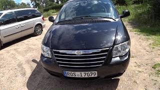 Авто из Литвы в Эстонию | Большой обзор минивэна Chrysler Grand Voyager
