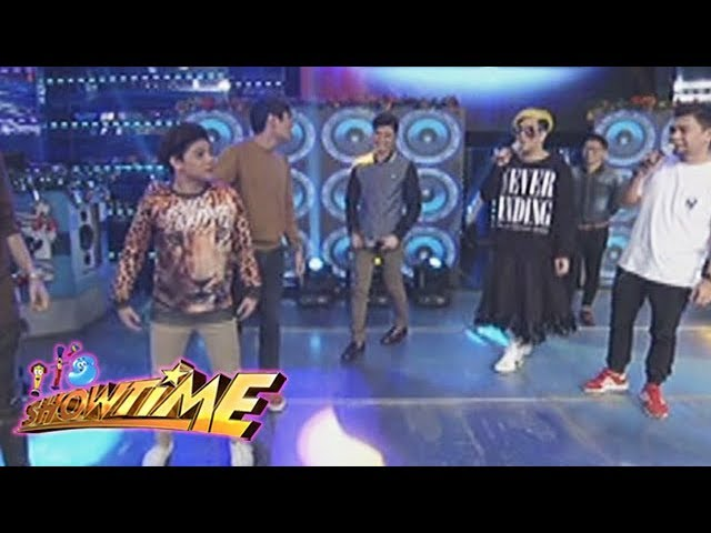 It's Showtime Copy-Cut: Vice notices something on Bugoy's pants
