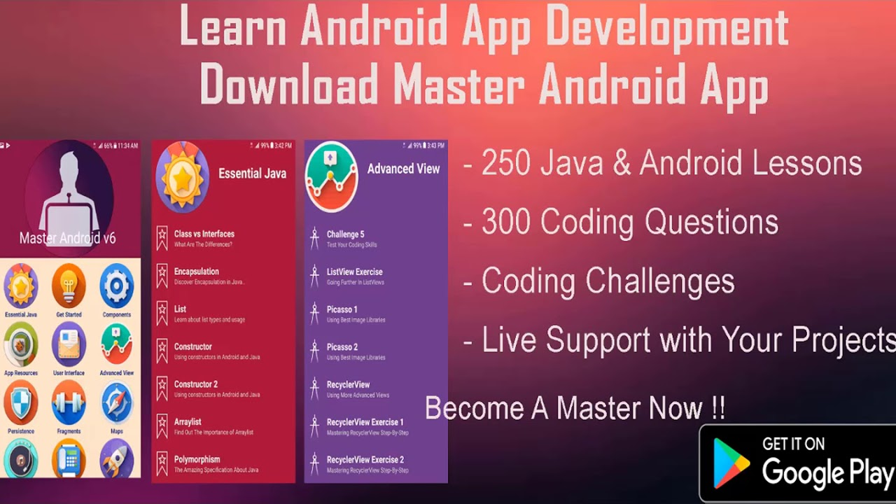 Brain Trainer Android App Project P1.. Learn Android App Development with real examples