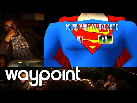 Playing Superman 64 - The Worst Game Ever? #waypoint72 Game 17