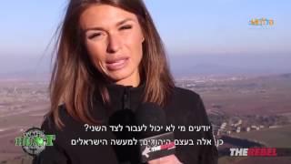 פיית' גולדי, כתבת קנדית הגיעה לישראל לסיקור המצב - ויראלי