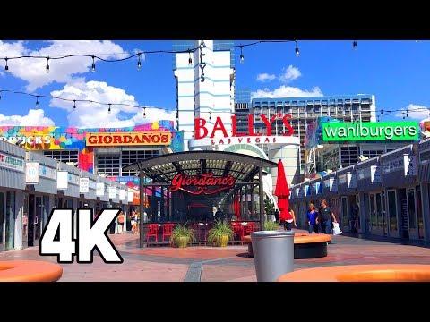 Bally's Grand Bazaar Shops Las Vegas 4K Tour