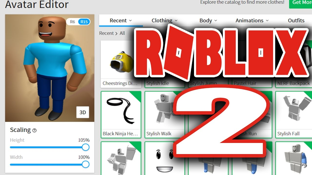 youtube roblox how to make your character look colo