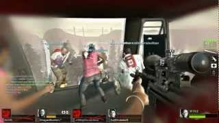 Left 4 Dead 2 Cold Stream (beta) - Cut-throat Creek 16 Players Online coop PC