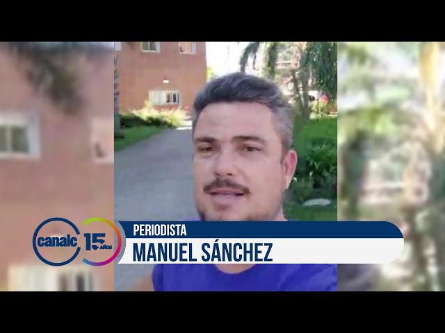Canal C 15 años: Manuel Sánchez, periodista