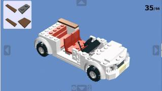 how to make a lego mustang