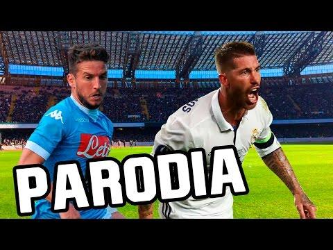 Canción Napoli - Real Madrid 1-3 (Parodia...