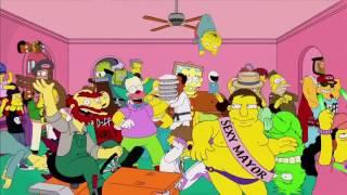 Harlem shake в рекламе нового сезона сериала Simpsons