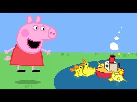 Peppa Wutz | Der Bootsteich | Peppa Pig Deutsch Neue Folgen | Cartoons für Kinder