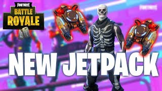 *NEW JETPACK* New Item Added to Fortnite (PS4 Pro) Does it Break the Game? thumbnail