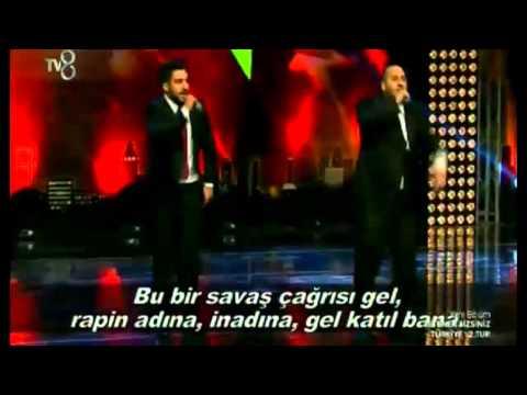 Burak ve Erdal Toprak Kardeşler Yetenek Sizsiniz Türkiye Rap Performansı (08 02 2015)