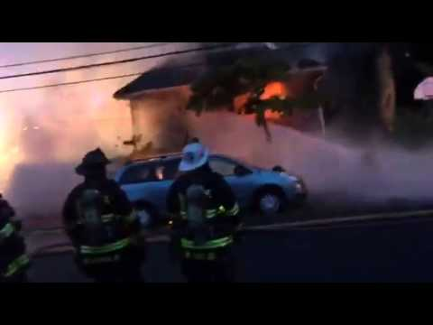 Master Stream Blast Firefighter at Camden County Fire