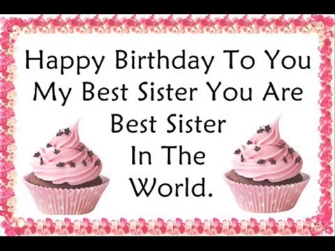 Birthday Wishes For Sister Quotes Stuvera Com