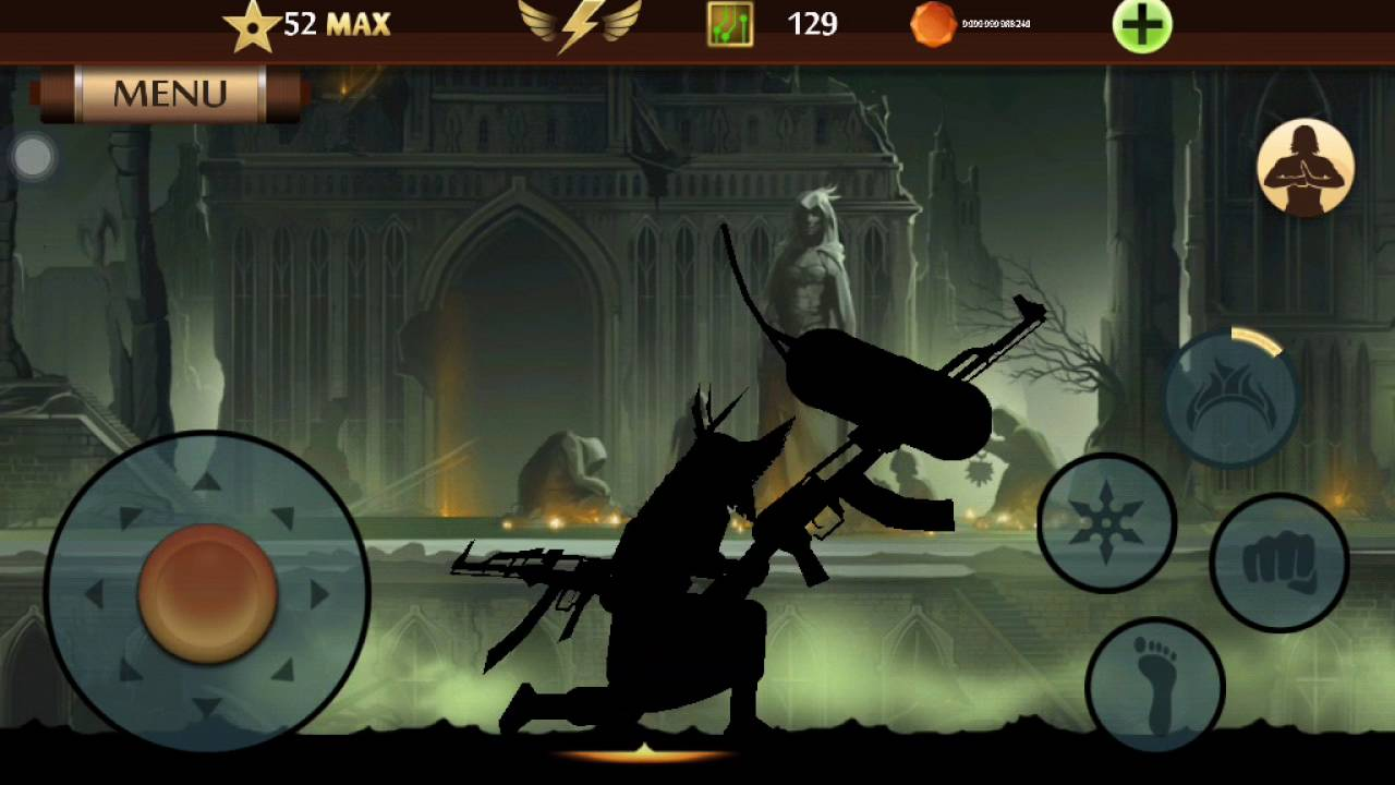 Shadow fight 2 AK - 47 + Download