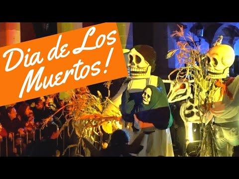 Dia de Los Muertos PARADE!! (Aguascalientes, Mexico)