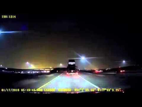 Ghost appear on 91 freeway