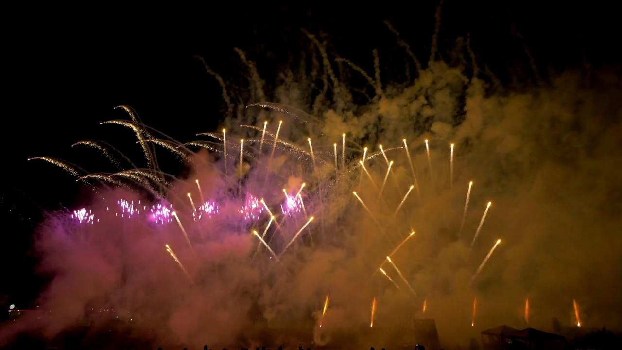 Nico Europe Hoffest 2016,  Alan Walker - Faded Firework / Feuerwerk Sequenz