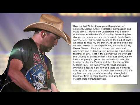 Jason Aldean Calls For Change After Route 91 Mp3