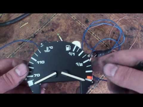 Как проверить индикаторы температуры и топлива на Т4   How To Check The Indicators T4