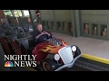 Dollywood's 'Lightning Rod' Is World's Fastest Wooden Roller Coaster | NBC Nightly News