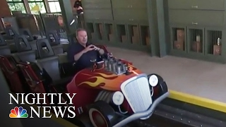 Dollywood's 'Lightning Rod' Is World's Fastest Wooden Roller Coaster   NBC Nightly News