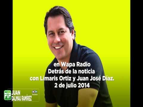 Lcdo. Juan Dalmau en Wapa Radio 2 de julio de 2014