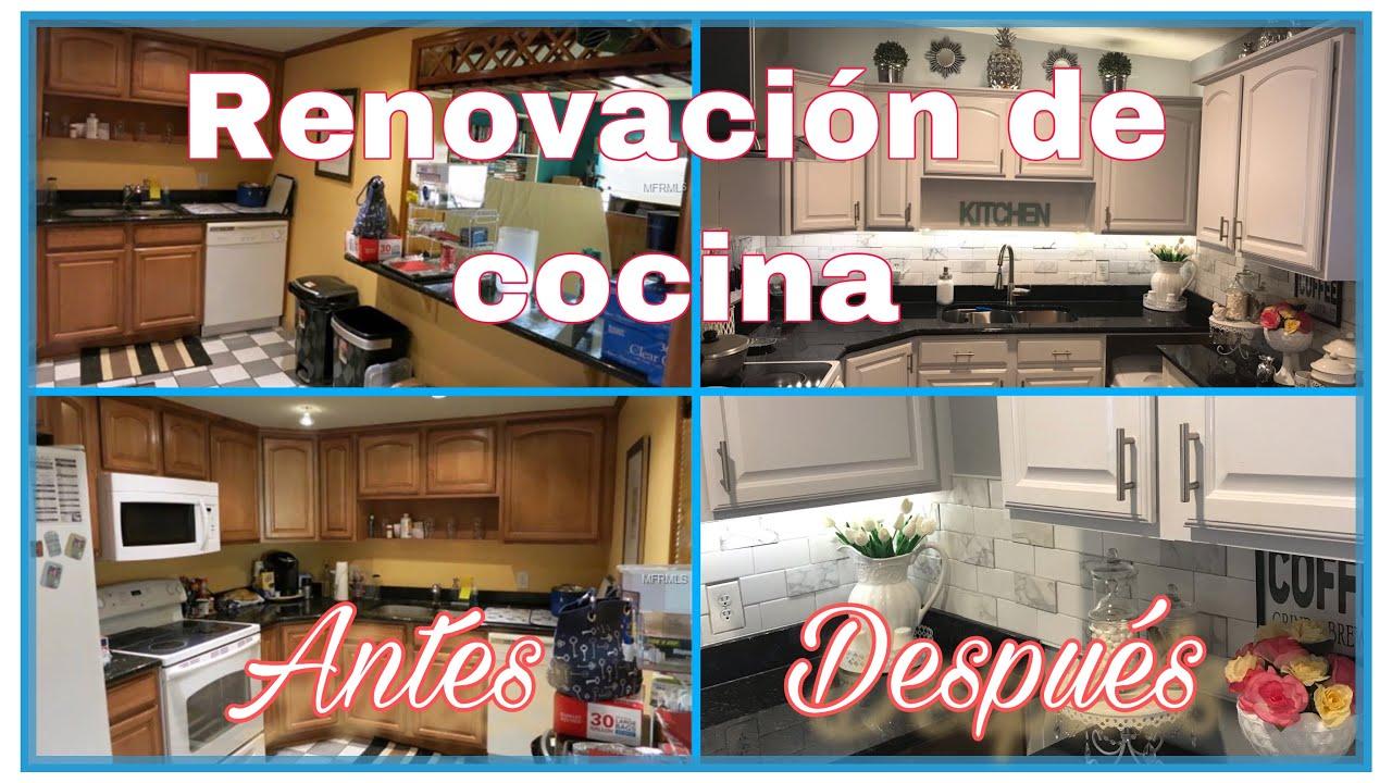 COMO DECORAR TU COCINA/IDEAS PARA DECORAR/KITCHEN RENOVATION AND DECOR IDEAS