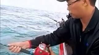 北三 紅魽 紅甘 鐵板路亞 卡通人物變態戰隊  杰少代班 2014 10 15