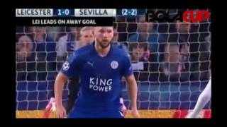 Leicester City 2 - 0 Sevilla All Goals & Highlights - Champions League // 15-03-17