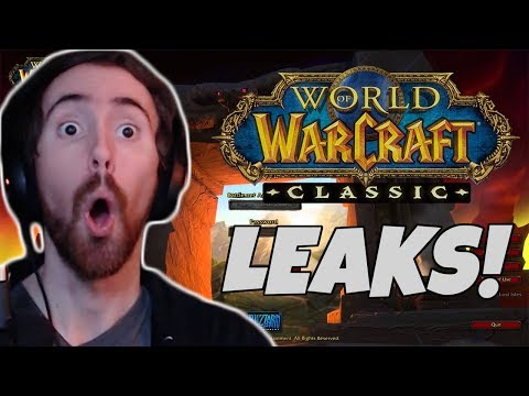 Asmongold Reacts To WoW Classic LEAKS!