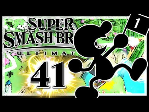 SUPER SMASH BROS. ULTIMATE # 41 👊 Mr. Game & Watch Hype! •  Super Smash Bros. Ultimate thumbnail