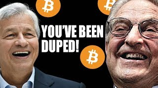 YOU'VE BEEN DUPED - The Wealthy vs Dumb Money - Bitcoin To Rise Again - Jamie Dimon 😱😿🚀