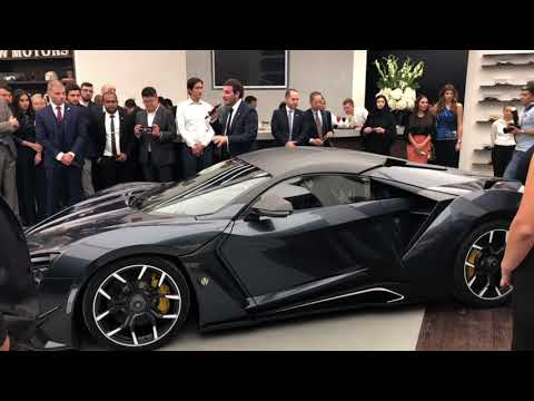 W MOTORS First Flagship Store Grand Opening – Dubai 29/11/2017