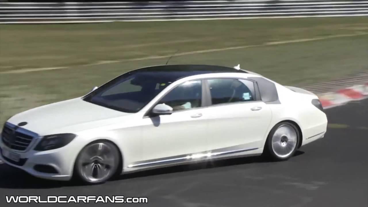 Mercedes Benz S Cl Extra Long Wheelbase Spied Sport Cars Video 2016 Best V