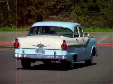1956 ford fairlane 4 door sedan sold youtube for 1956 ford fairlane 4 door