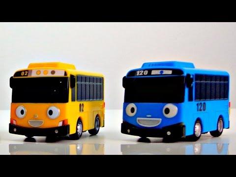 Мультики для самых маленьких: Автобус Тайо и Машинки