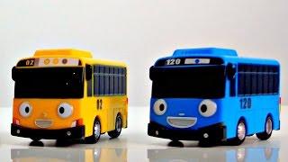 Мультики для самых маленьких: АВТОБУС ТАЙО и Машинки! Учим цвета. Цвета для малышей. 타요 꼬마버스