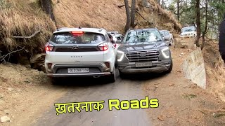 Driving CRETA 2021 on Very Dangerous Roads | Full Risk | Part 4