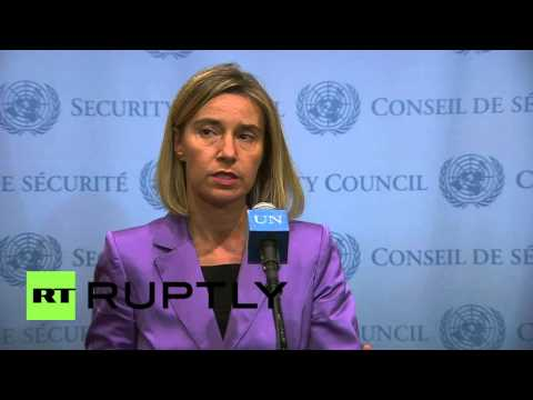 """UN: """"Iran deal will be implemented in full"""" - EU foreign policy chief Mogherini"""
