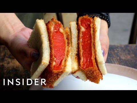 We Tried A 'Steak' Sandwich Made Of Watermelon