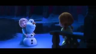 Little Anna And Elsa
