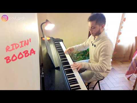 RIDIN' (TRÔNE) - BOOBA / Piano cover 🎹