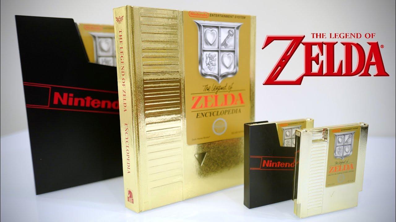 The legend of zelda (gold) nes retrogameage.