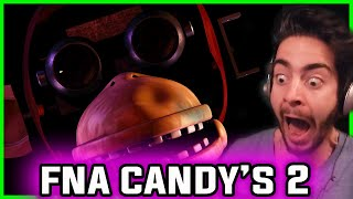 FIVE NIGHTS at CANDY'S 2 | Withered Animatronics! | Five Nights at Candy's 2 Night 1 and Night 2