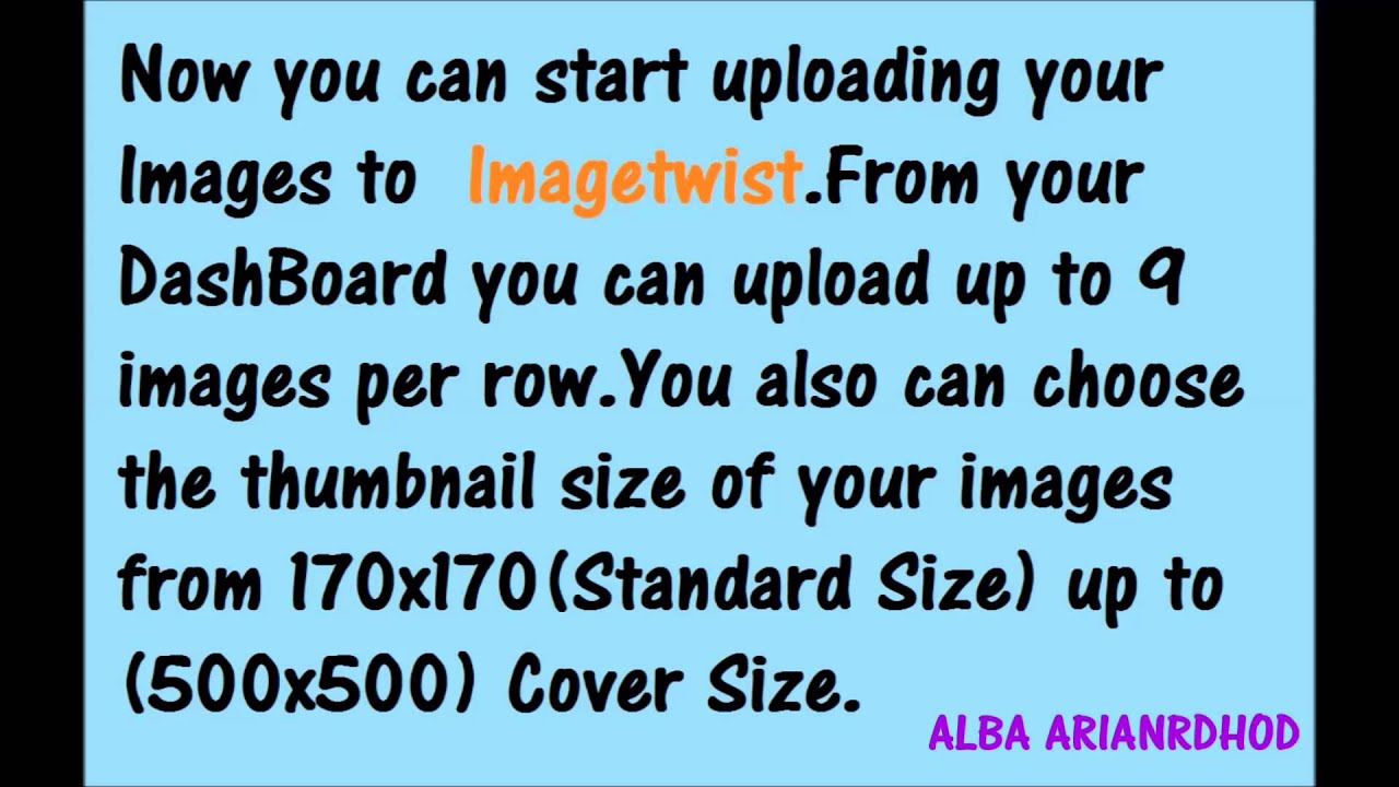 img@@@.imagetwist.com upload IMAGETWIST TUTORIAL BEST IMAGE HOSTING