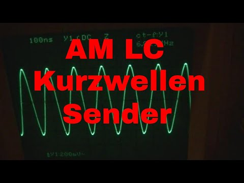 LC (Spule Kondensator) AM Kurzwellensender - eflose #905