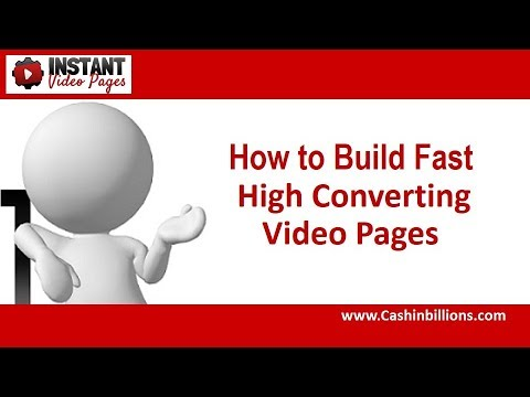 Instant Video Pages Review | How to Build High Converting Video Pages