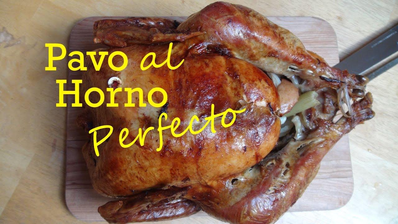 Receta de Pavo al Horno Perfecto  Como Cocinar Pavo  The