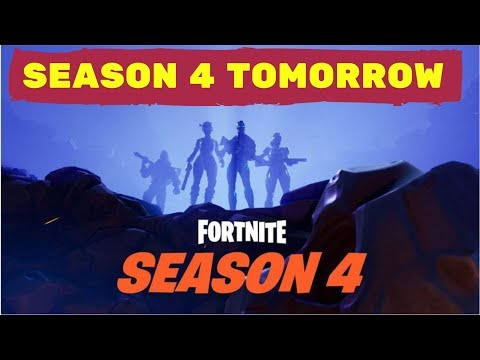 Season 4 Fortnite Battle Pass Coming Tomorrow | SOLO | SQUADS | DUOS | Chill out stream | GAMER4WIFE