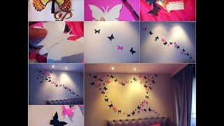 25 Cool And Cute Wall Decor Diy Ideas For Bedroom | Learning Process